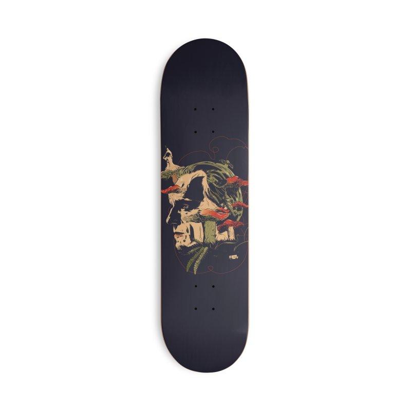 Phantom Thead (print) Accessories Deck Only Skateboard by Huevart's Artist Shop
