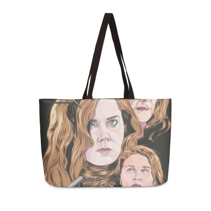 Asphyxiate Accessories Weekender Bag Bag by Huevart's Artist Shop