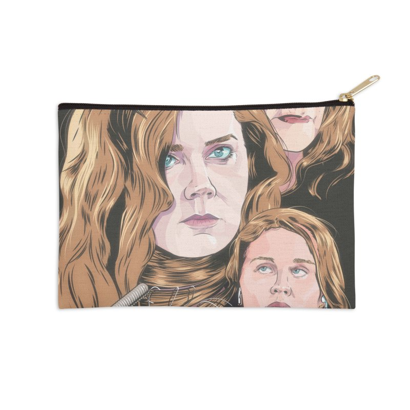 Asphyxiate Accessories Zip Pouch by Huevart's Artist Shop