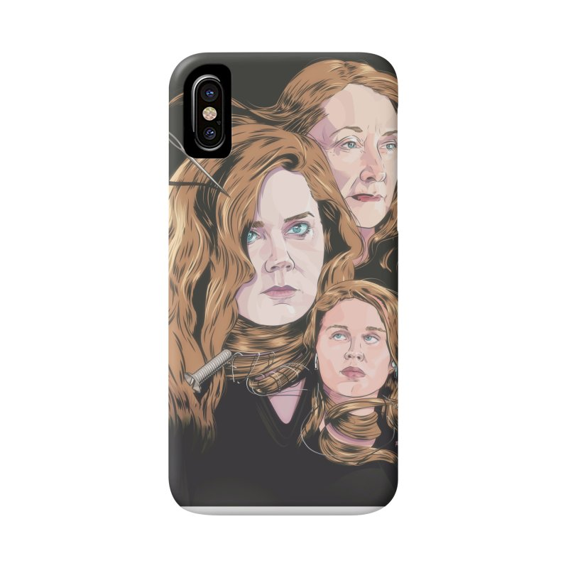 Asphyxiate Accessories Phone Case by Huevart's Artist Shop