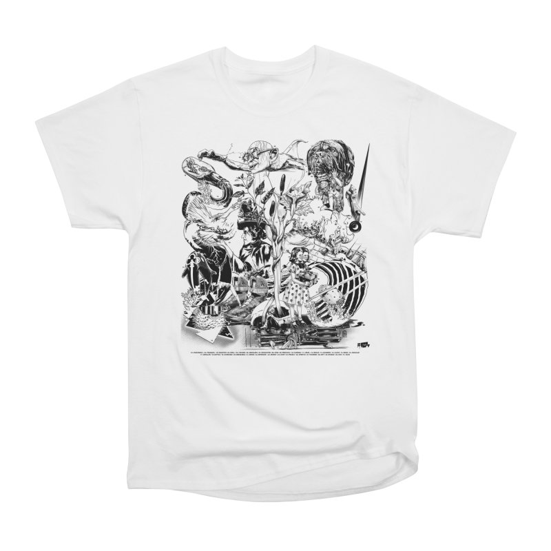 INKTOBER 2018 Women's T-Shirt by Huevart's Artist Shop