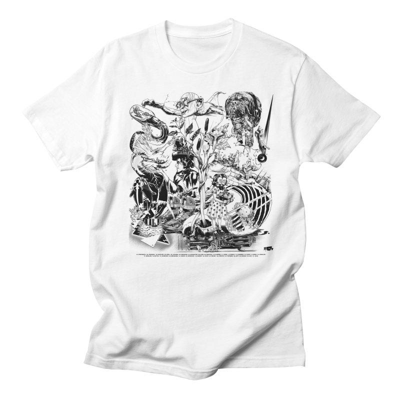 INKTOBER 2018 Men's T-Shirt by Huevart's Artist Shop