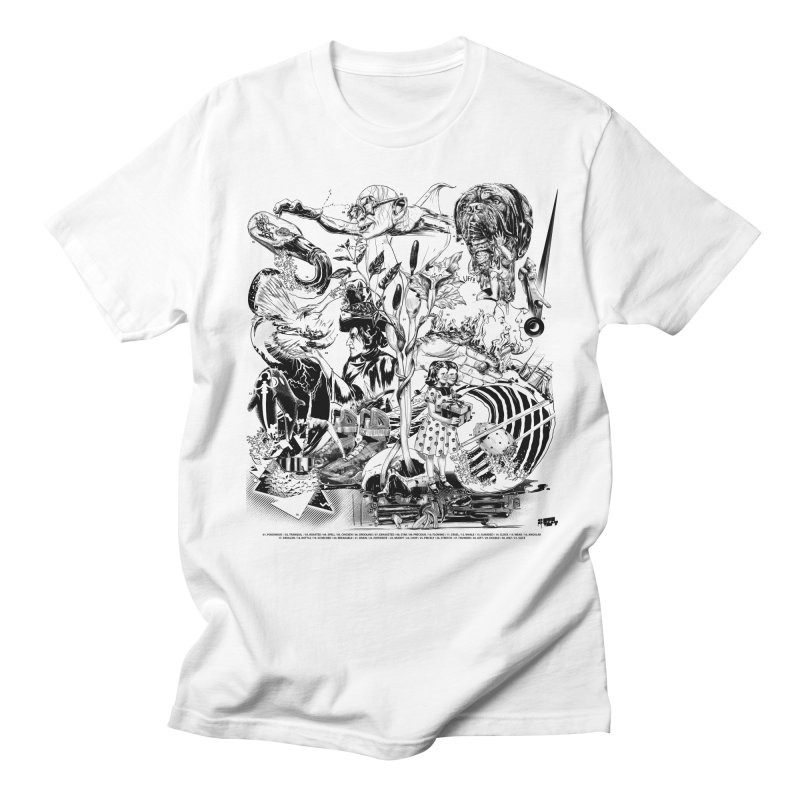 INKTOBER 2018 Women's Regular Unisex T-Shirt by Huevart's Artist Shop