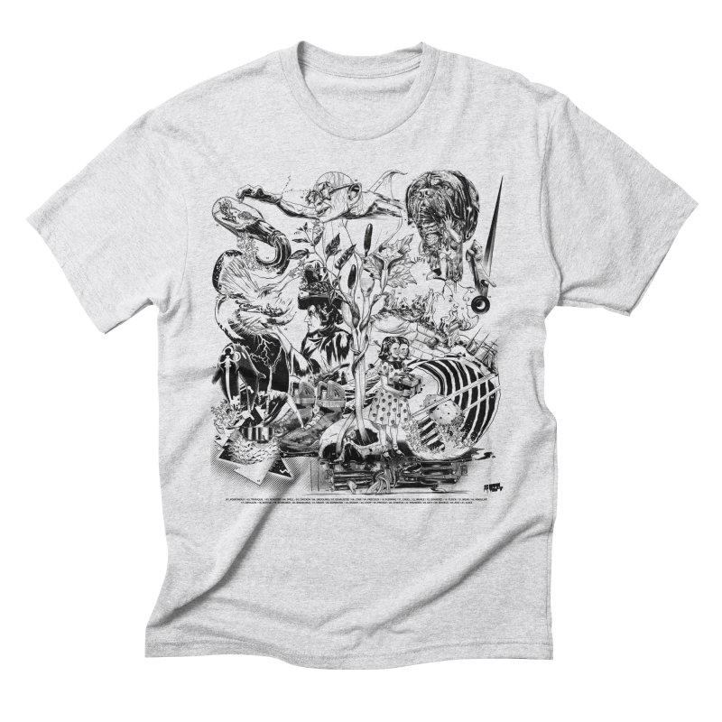 INKTOBER 2018 Men's Triblend T-Shirt by Huevart's Artist Shop