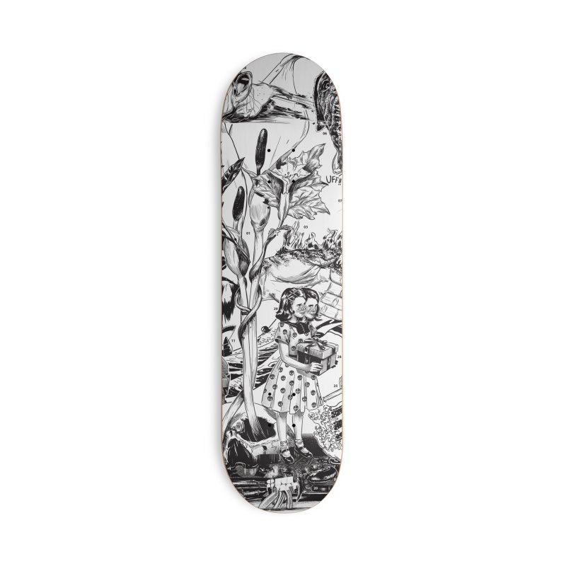 INKTOBER 2018 Accessories Deck Only Skateboard by Huevart's Artist Shop