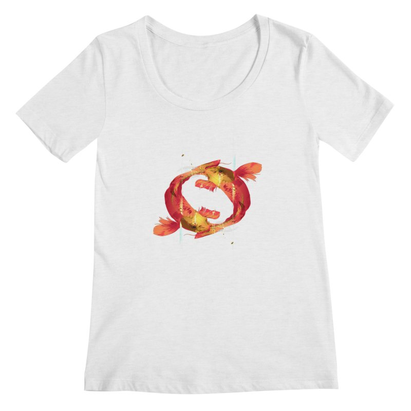 Koy Koy Women's Scoopneck by Huevart's Artist Shop