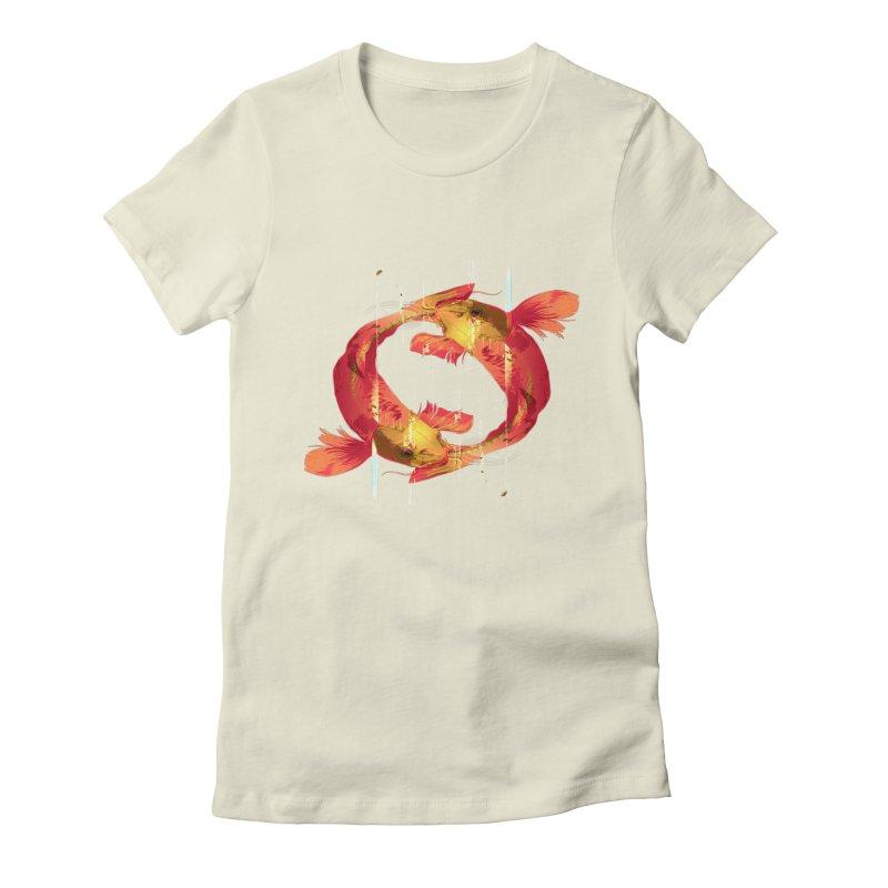 Koy Koy Women's Fitted T-Shirt by Huevart's Artist Shop