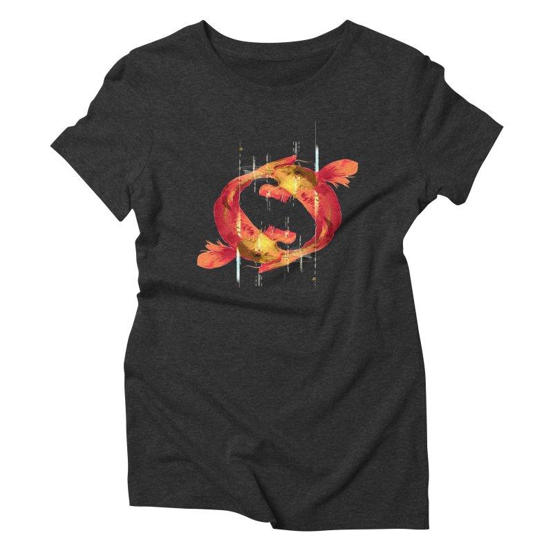 Koy Koy Women's Triblend T-shirt by Huevart's Artist Shop