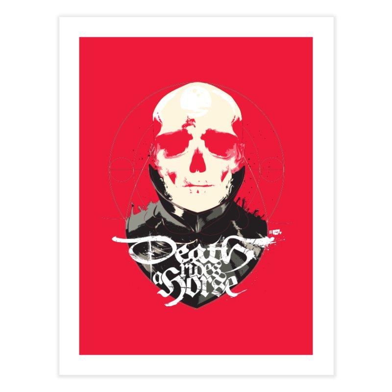 Skull Home Fine Art Print by Huevart's Artist Shop