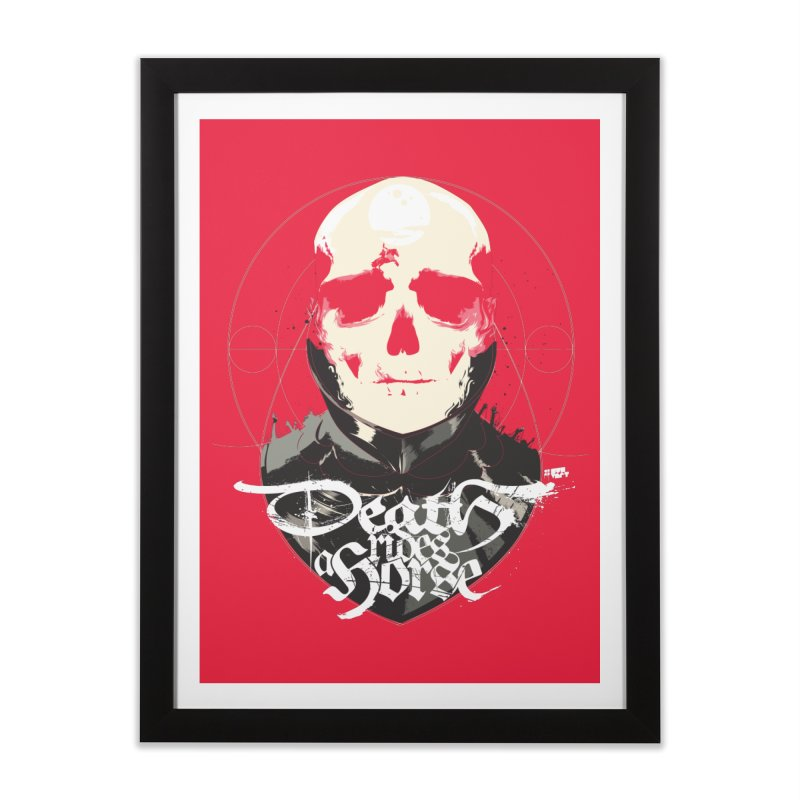 Skull Home Framed Fine Art Print by Huevart's Artist Shop