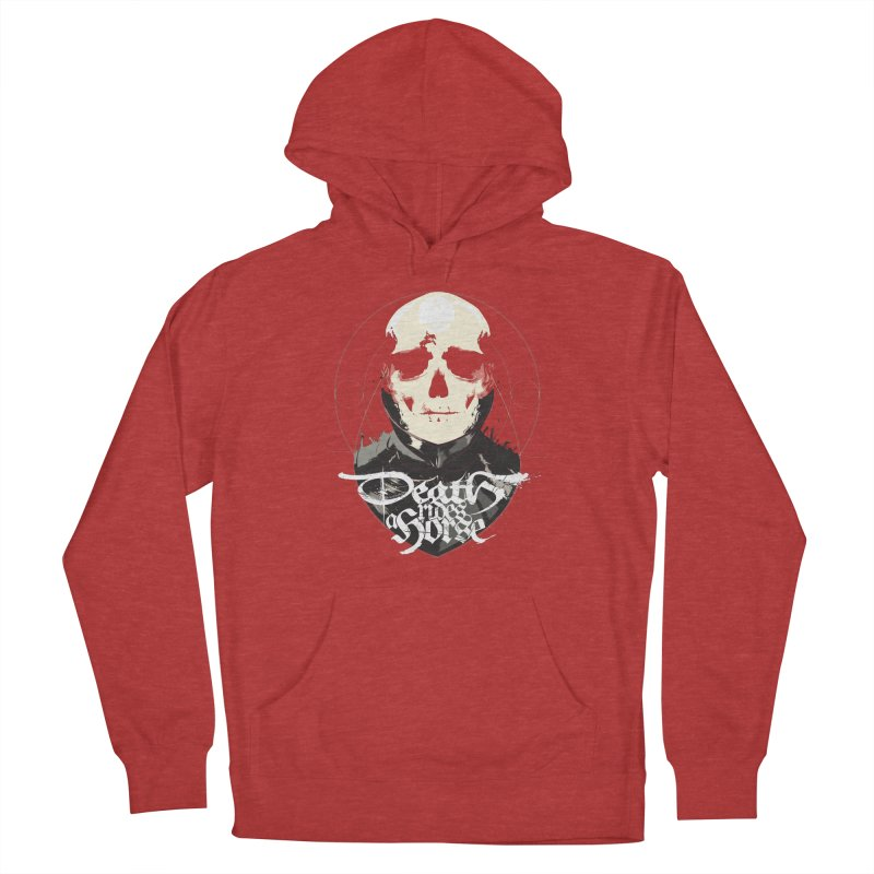 Skull Men's French Terry Pullover Hoody by Huevart's Artist Shop
