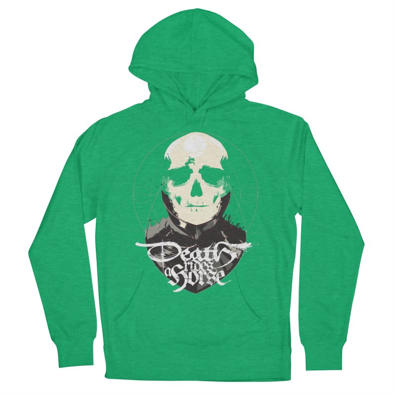 Skull Women's French Terry Pullover Hoody by Huevart's Artist Shop