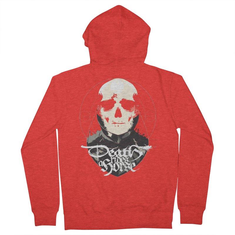 Skull Men's Zip-Up Hoody by Huevart's Artist Shop