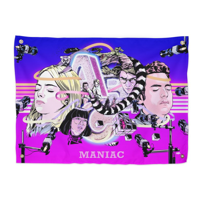 Maniac Home Tapestry by Huevart's Artist Shop