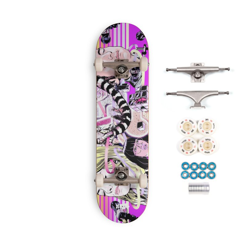 Maniac Accessories Complete - Premium Skateboard by Huevart's Artist Shop
