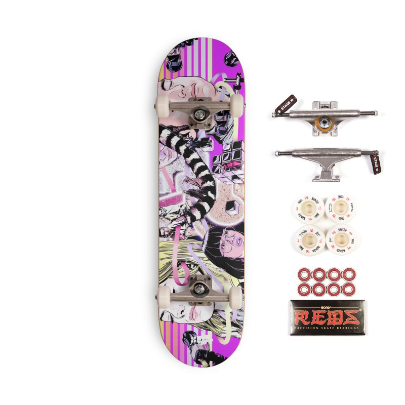 Maniac Accessories Complete - Pro Skateboard by Huevart's Artist Shop
