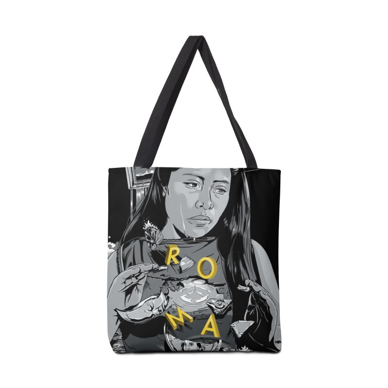 Overflowed Accessories Tote Bag Bag by Huevart's Artist Shop