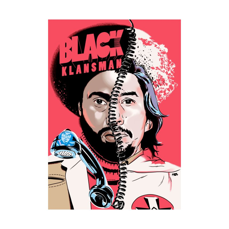 Black Klansman Home Fine Art Print by Huevart's Artist Shop