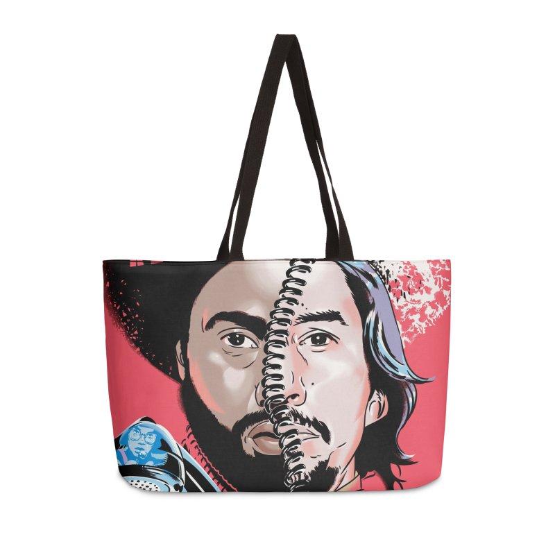Black Klansman Accessories Weekender Bag Bag by Huevart's Artist Shop