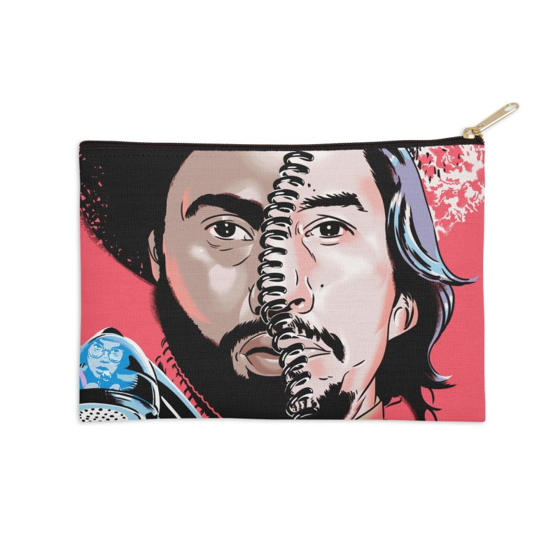 Black Klansman Accessories Zip Pouch by Huevart's Artist Shop