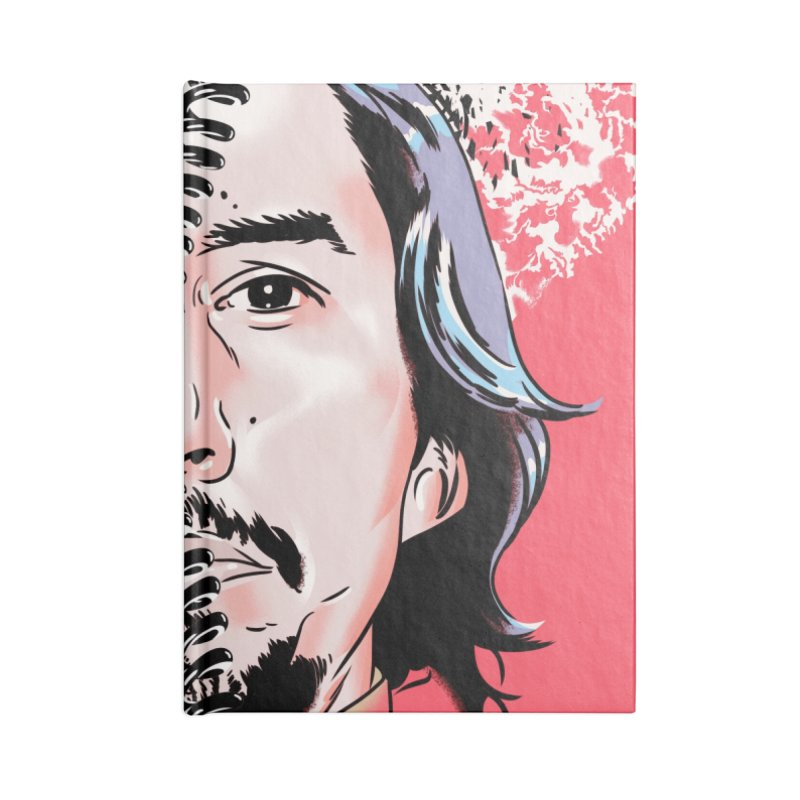 Black Klansman Accessories Blank Journal Notebook by Huevart's Artist Shop