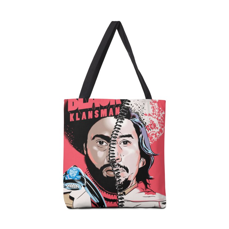 Black Klansman Accessories Tote Bag Bag by Huevart's Artist Shop