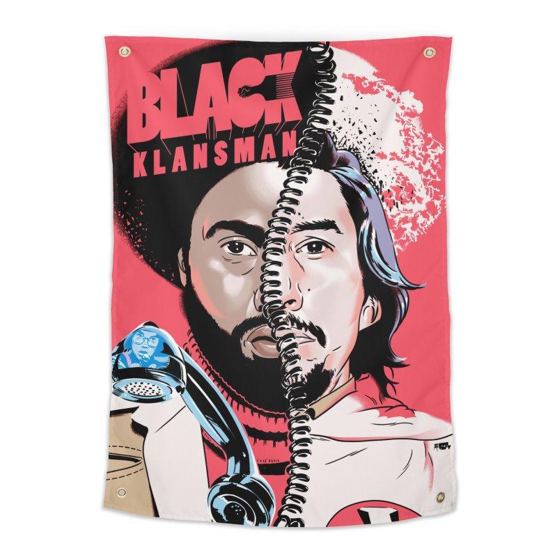 Black Klansman Home Tapestry by Huevart's Artist Shop