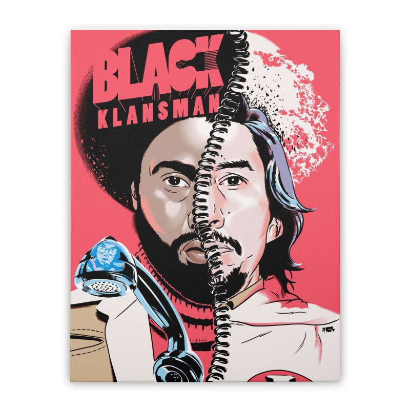 Black Klansman Home Stretched Canvas by Huevart's Artist Shop