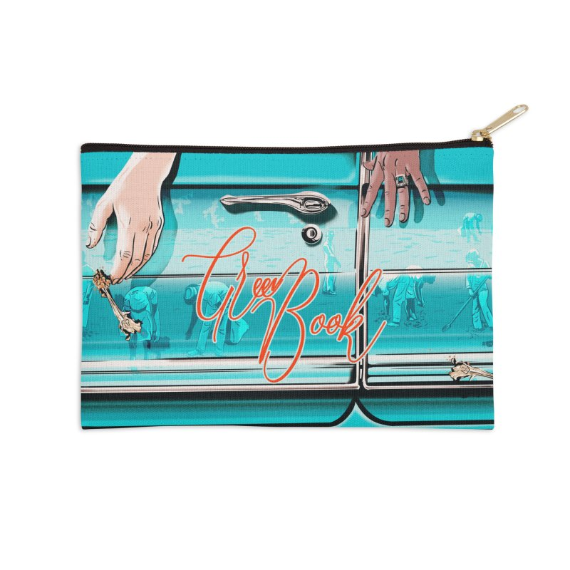 Green Book Accessories Zip Pouch by Huevart's Artist Shop