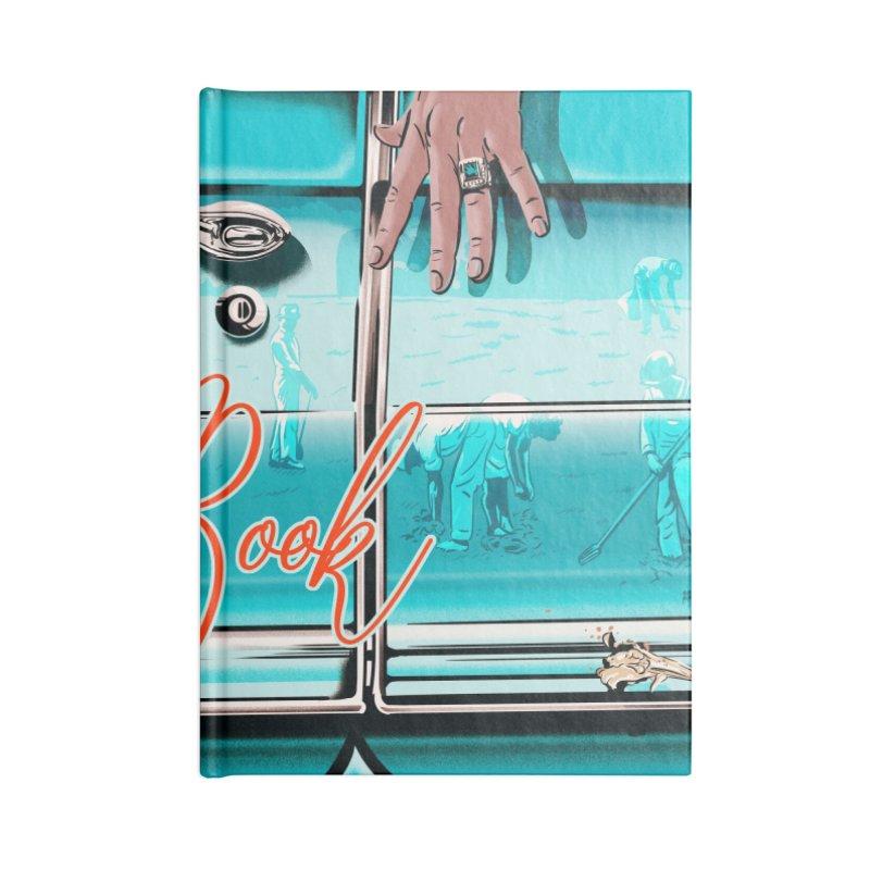 Green Book Accessories Lined Journal Notebook by Huevart's Artist Shop