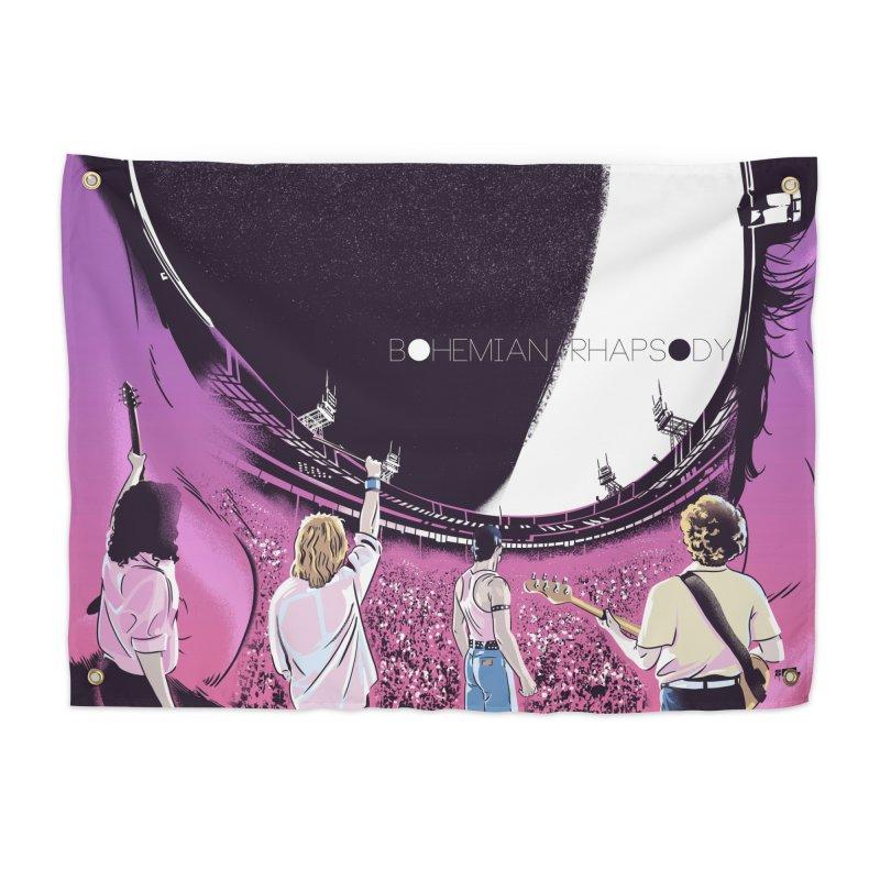 Bohemian Rhapsody Home Tapestry by Huevart's Artist Shop