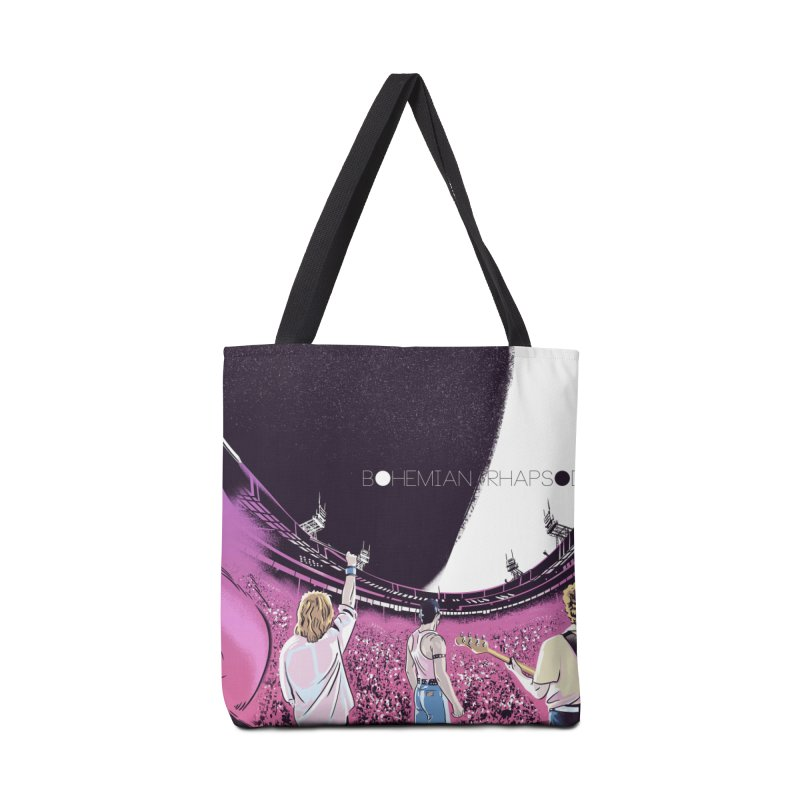 Bohemian Rhapsody Accessories Tote Bag Bag by Huevart's Artist Shop