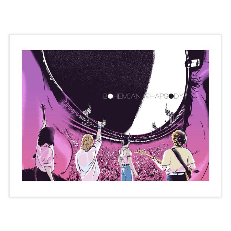 Bohemian Rhapsody Home Fine Art Print by Huevart's Artist Shop