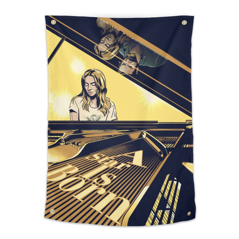 A Star Is Born Home Tapestry by Huevart's Artist Shop
