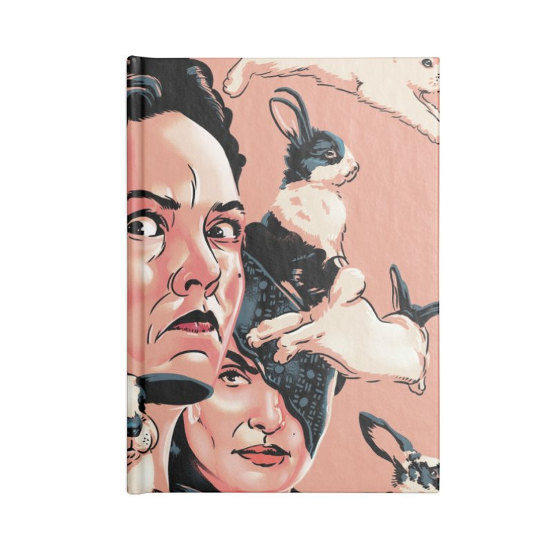 The Favourite Accessories Blank Journal Notebook by Huevart's Artist Shop