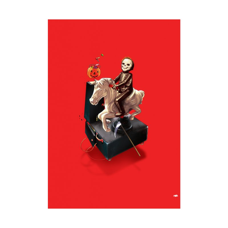 Death Rides A Horse   by Huevart's Artist Shop