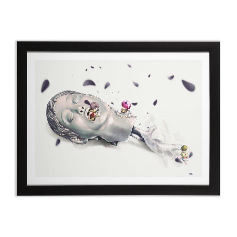 Choke Home Framed Fine Art Print by Huevart's Artist Shop
