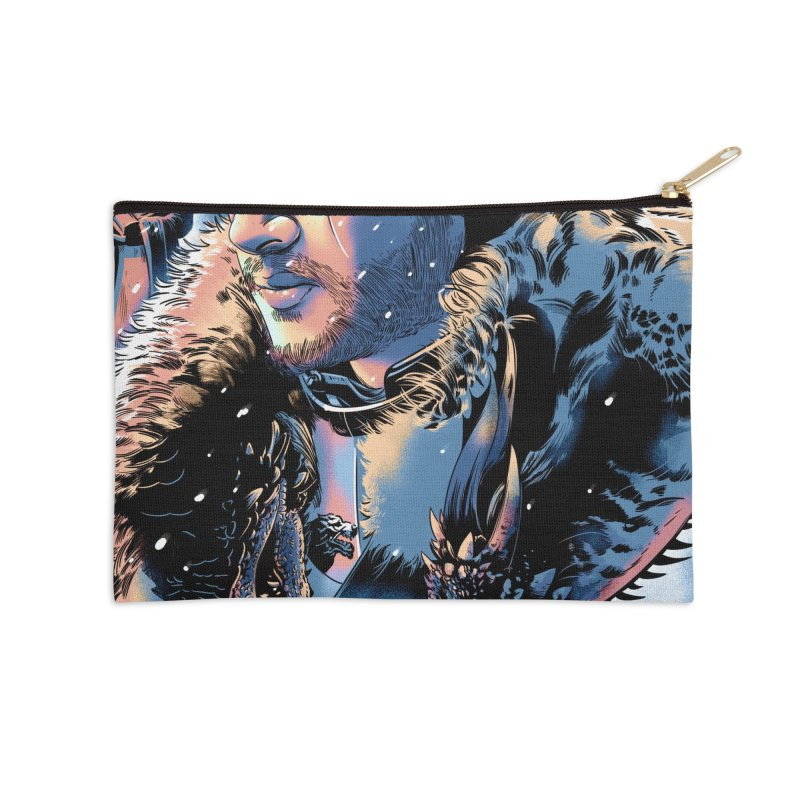 Winterfell Accessories Zip Pouch by Huevart's Artist Shop