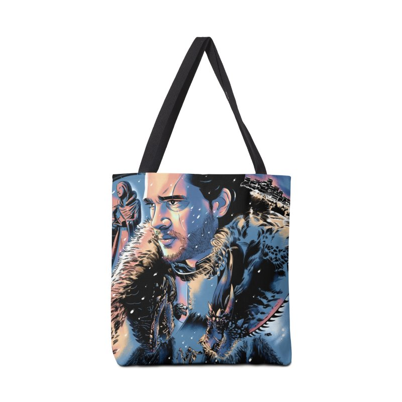 Winterfell Accessories Tote Bag Bag by Huevart's Artist Shop