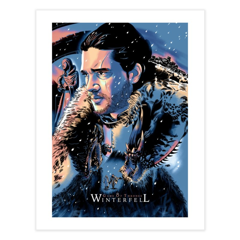 Winterfell Home Fine Art Print by Huevart's Artist Shop