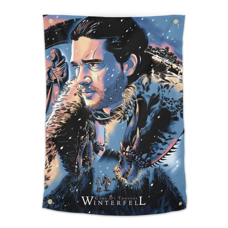 Winterfell Home Tapestry by Huevart's Artist Shop