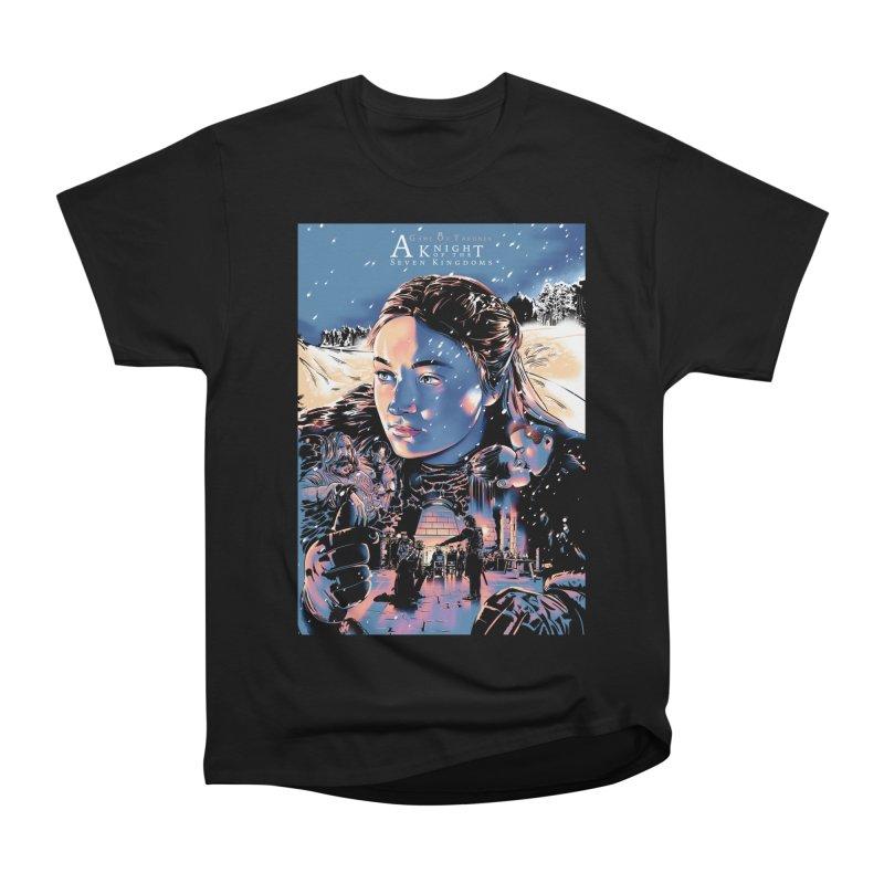 A King of the Seven Kingdoms Women's Heavyweight Unisex T-Shirt by Huevart's Artist Shop