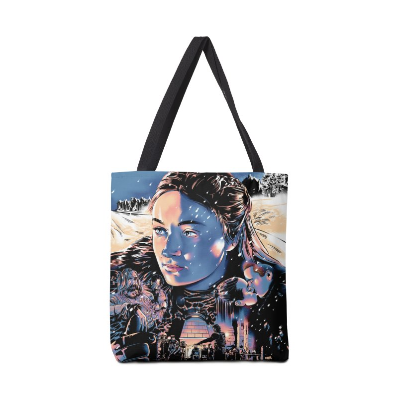 A King of the Seven Kingdoms Accessories Bag by Huevart's Artist Shop