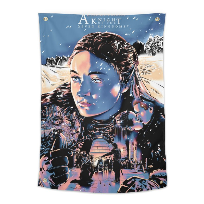 A King of the Seven Kingdoms Home Tapestry by Huevart's Artist Shop