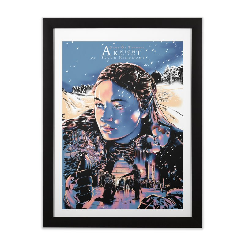 A King of the Seven Kingdoms Home Framed Fine Art Print by Huevart's Artist Shop