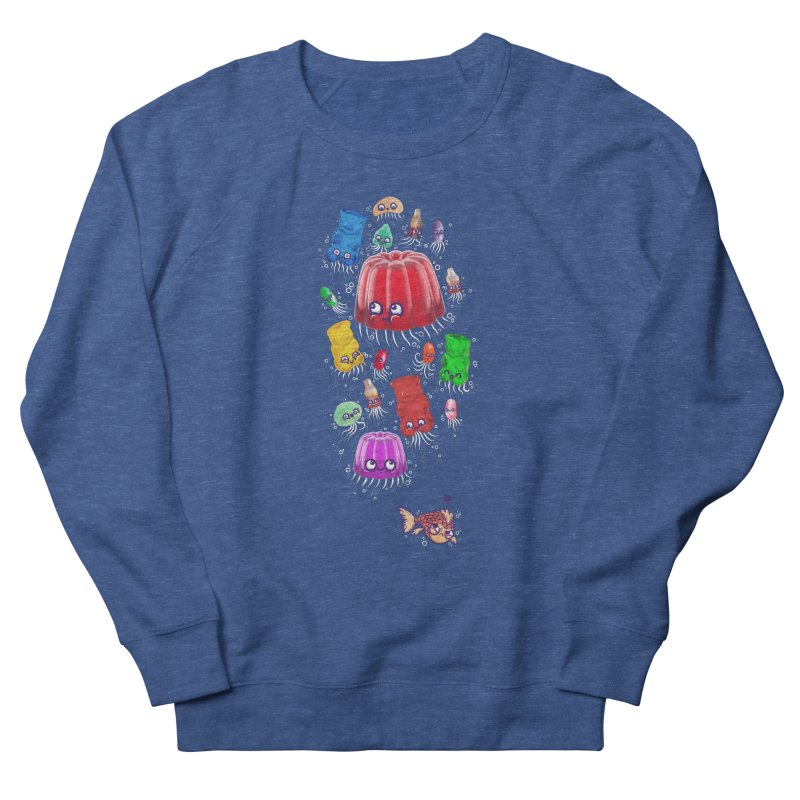 Don't be jelly, fish! Men's Sweatshirt by Hugo Diaz