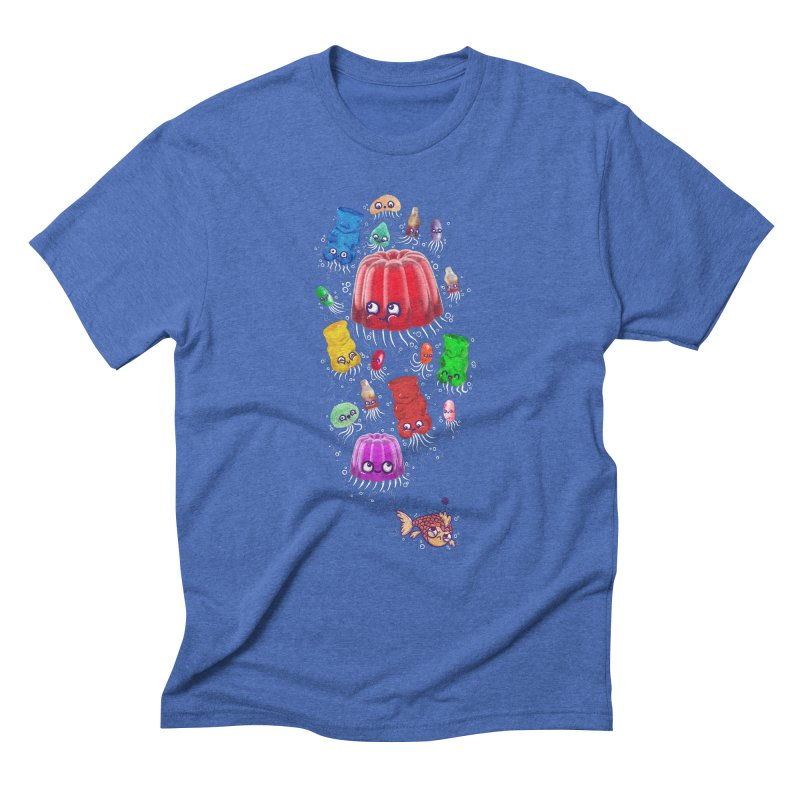 Don't be jelly, fish! Men's Triblend T-shirt by Hugo Diaz