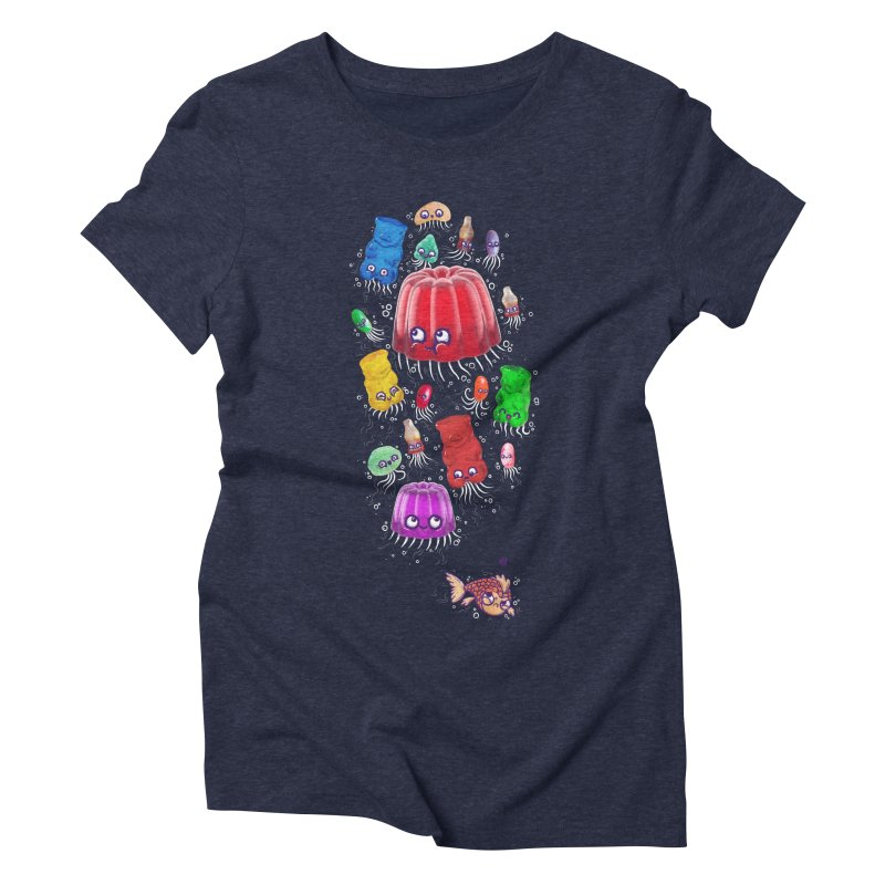 Don't be jelly, fish! Women's Triblend T-Shirt by Hugo Diaz