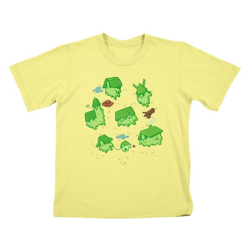 Ghost Town Kids T-shirt by Hugo Diaz