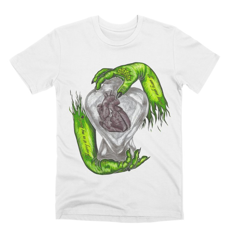 I Carry Your Heart Men's Premium T-Shirt by HumAlong Productions